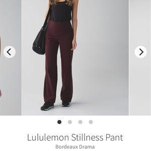 LULULEMON *RARE* Sit in stillness Pants